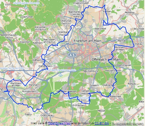 Regionalpark Rundroute Rhein-Main gesamt