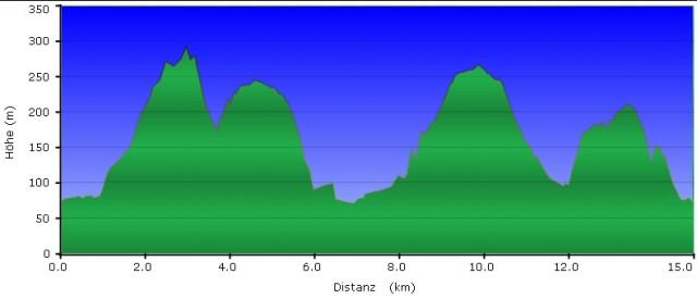 Höhenprofil Rheinsteig #8